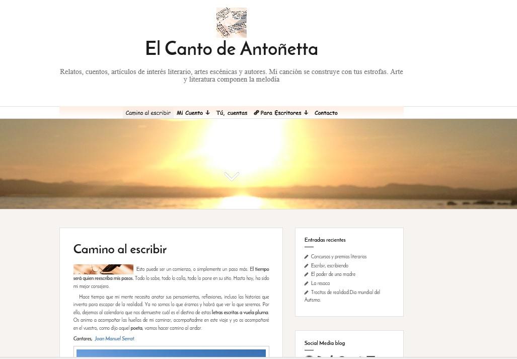NuevaWeb:El-canto-de-Antonietta.com